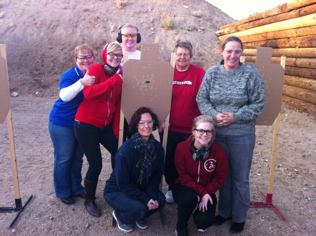Ladies from our December Basic Firearms 101 Class